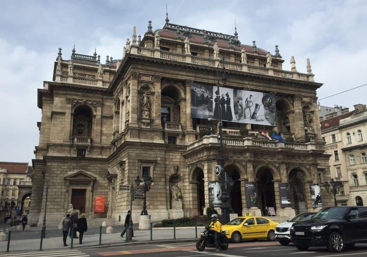 Opera House de Budapeste