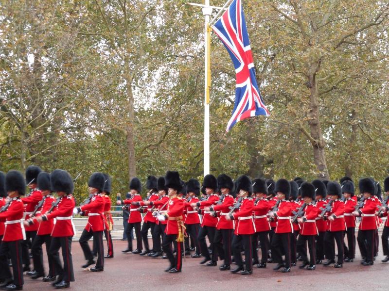 Troca da Guarda Real em Londres