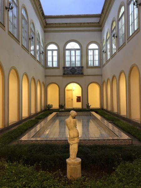 Visita guiada ao Palácio Guanabara: Pátio interno