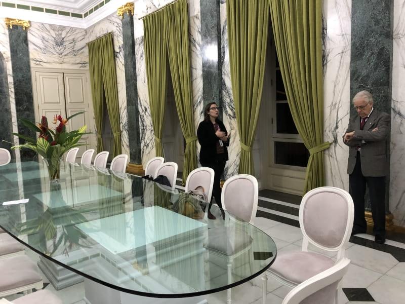 Visita guiada ao Palácio Guanabara: Salão Verde
