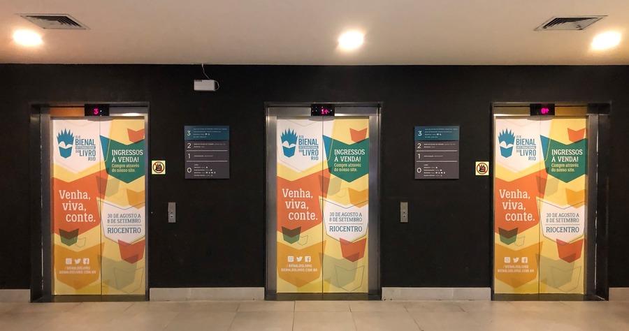 como visitar o aquario: elevadores