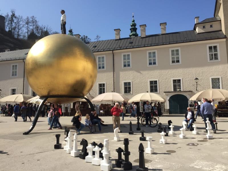 Roteiro de 3 dias em Salzburgo: Kapitelplatz