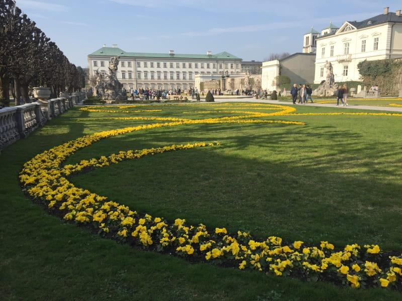 Roteiro de 3 dias em Salzburgo: Mirabellgarten.