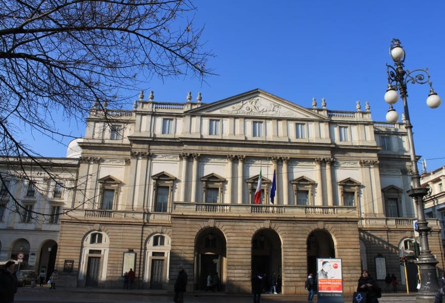 Teatro alla Scala de Milão.
