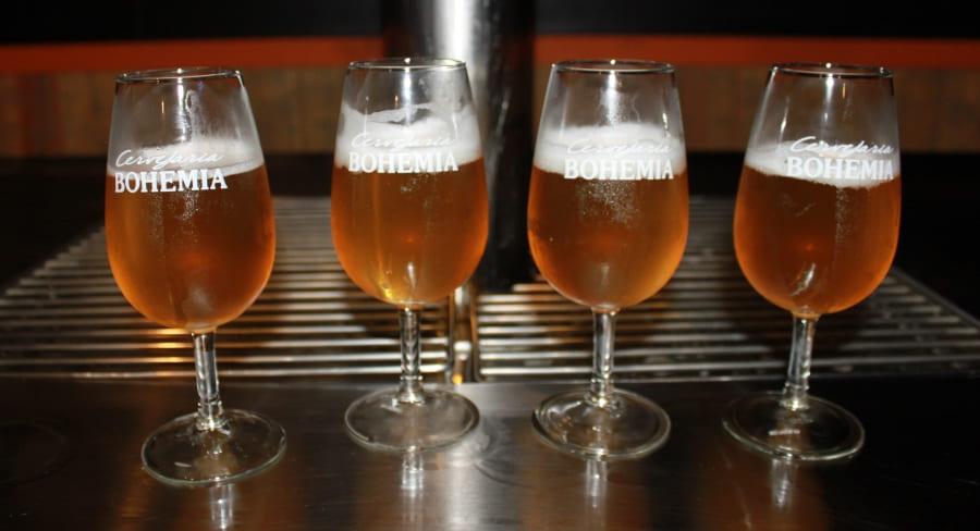 Cervejaria Bohemia - degustação