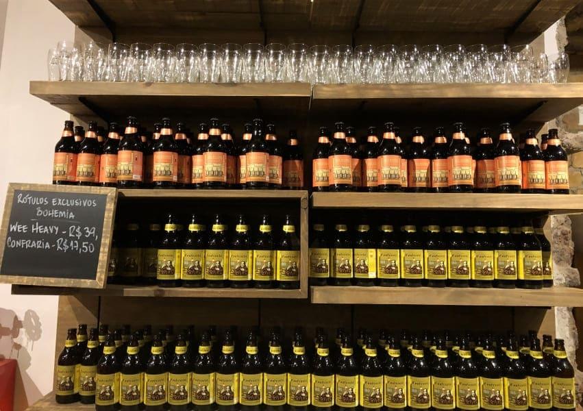 Loja de varejo da Cervejaria Bohemia