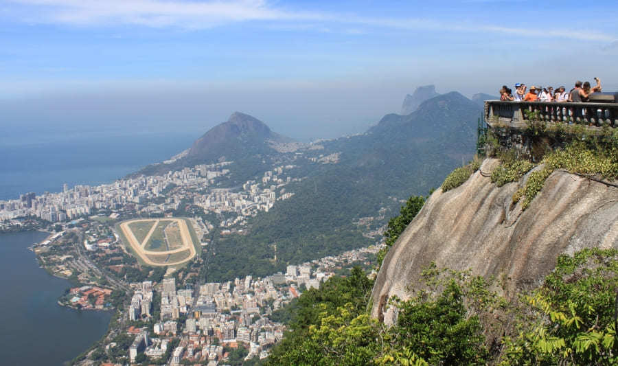 Christ the Redeemer lookout.