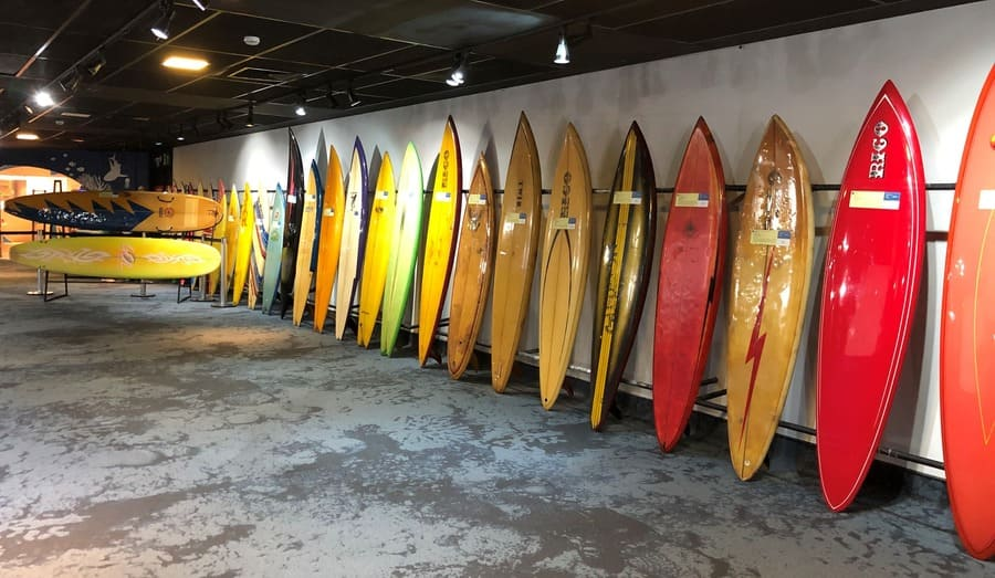 como visitar o aquario: Museu do Surf