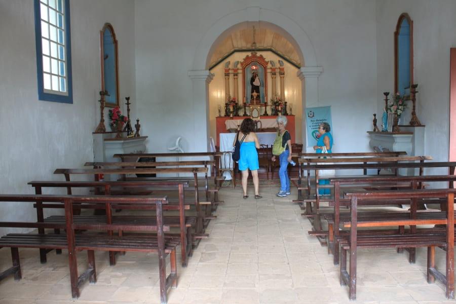 Capela Santo Antonio da Bica no Sítio Burle Marx.