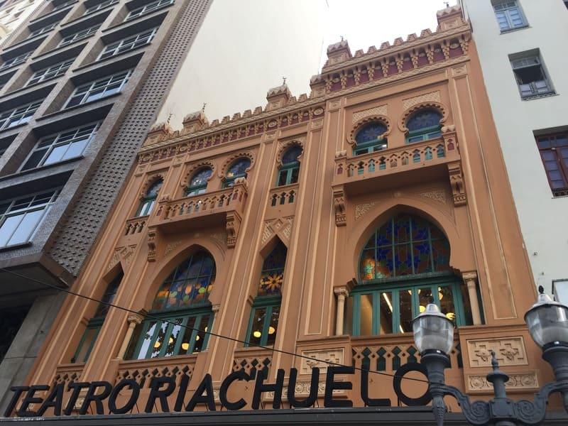 Tour do Teatro Riachuelo: entrada principal