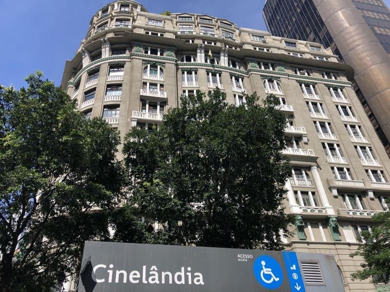Teatro Riachuelo acesso pelo metrô Cinelândia