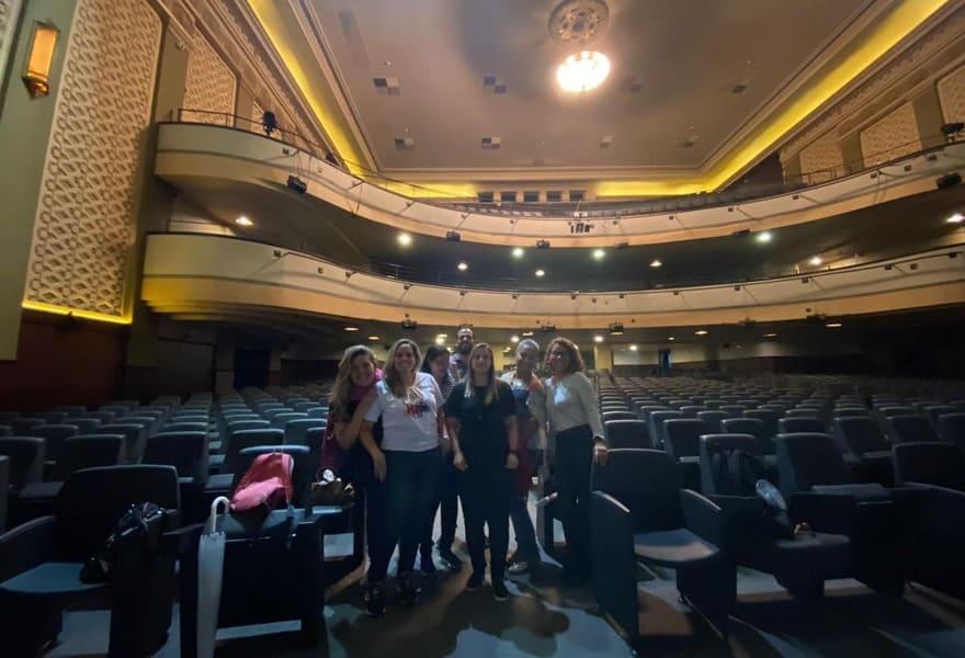 Tour do Teatro Riachuelo: sala de espetáculos