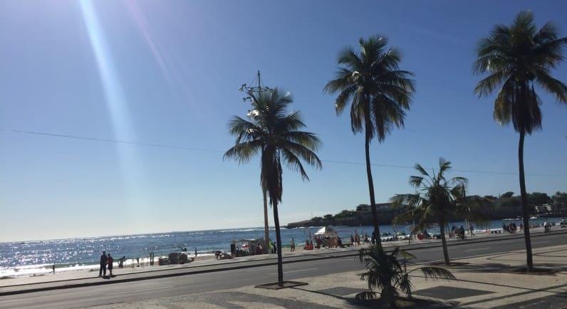 City Tour no Rio de Janeiro: praia de Copacabana