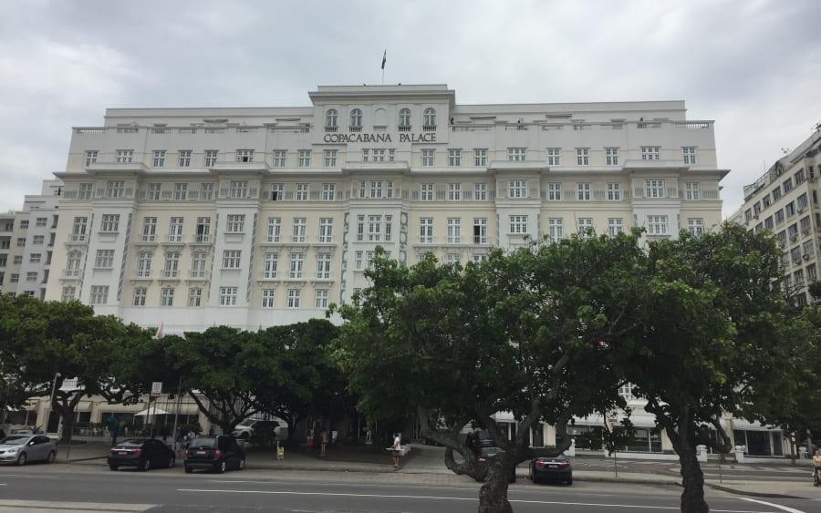 City Tour no Rio de Janeiro: Copacabana Palace