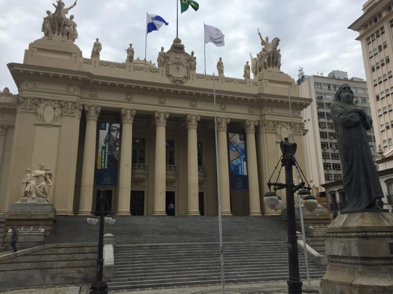 City Tour no Rio de Janeiro: Palácio Tiradentes.