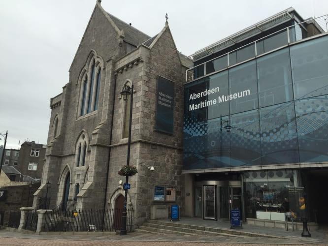 O que visitar em Aberdeen: Museu Marítimo.
