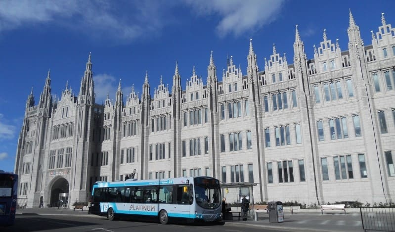 O que visitar em Aberdeen: City Council (prefeitura).