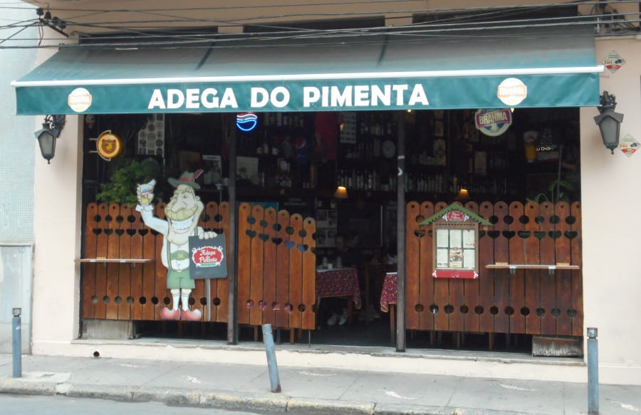 Santa Teresa neighborhood: Adega do Pimenta.