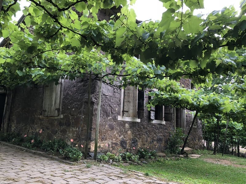 Cantina Strapazzon nos Caminhos de Pedra em Bento Gonçalves.