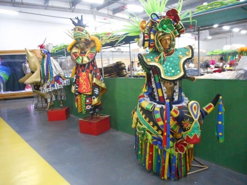Carnaval Experience: fantasias de carnavais passados.