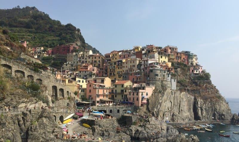 Cinque Terre a partir de La Spezia: Manarola