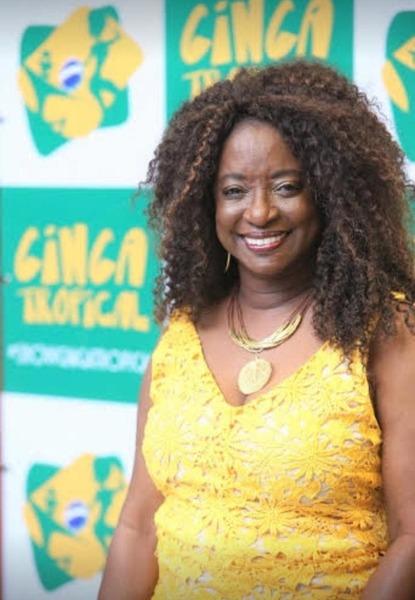 Ginga Tropical e sua idealizadora: Rose Oliveira.