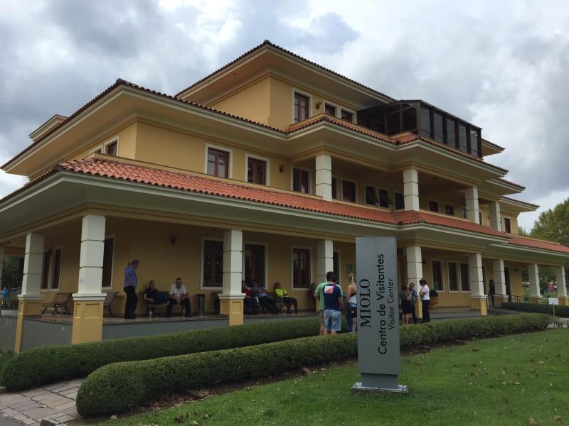 Centro de visitantes da Vinícola Miolo