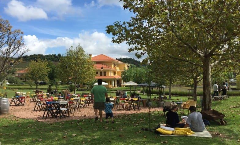 Wine garden da Vinícola Miolo