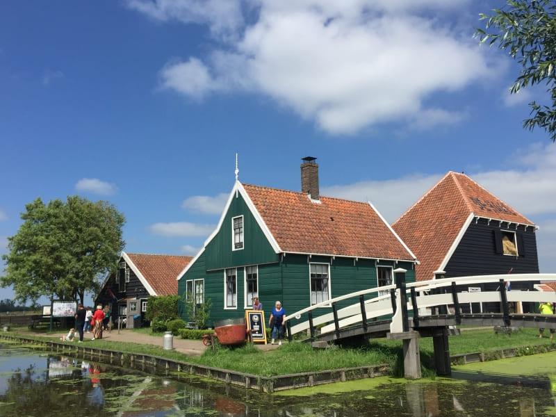 Casas típicas holandesas de Zaanse Schans