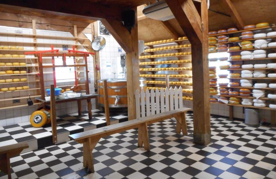 Fábrica de queijos em Zaanse Schans