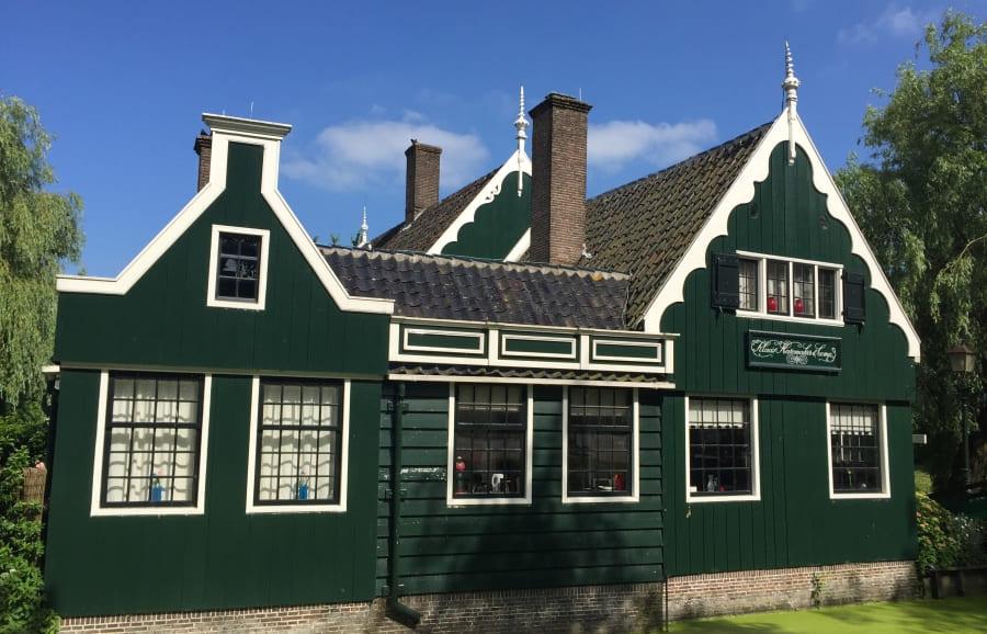 Zaanse Schans: uma linda vila tradicional holandesa.