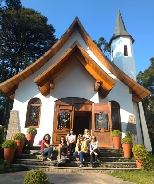Capela do Hotel Ritta Höppner em Gramado.