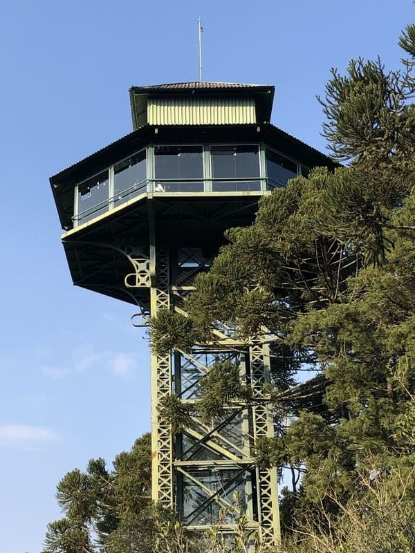 Observatório 360 graus do do Parque do Caracol.