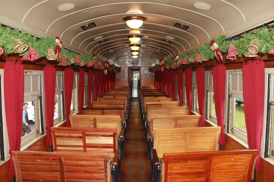 Vagão de número 215 do Trem Maria Fumaça - Serra Gaúcha.