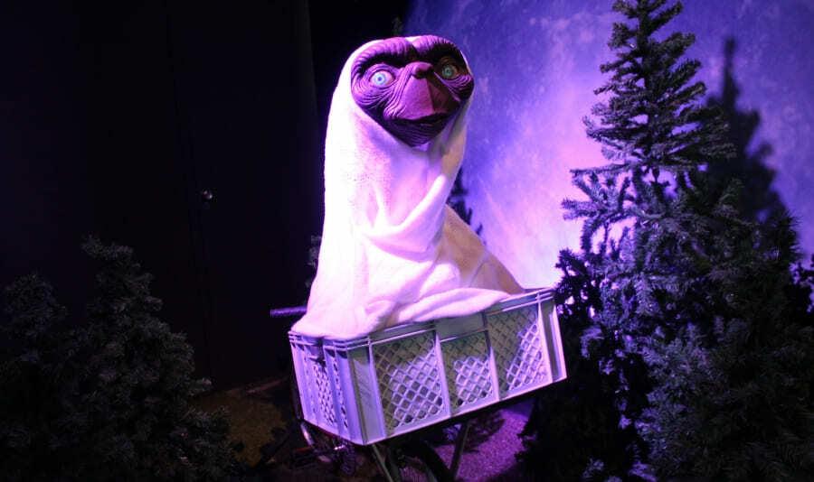 Boneco do E.T. no Dreamland Museu de Cera de Gramado.