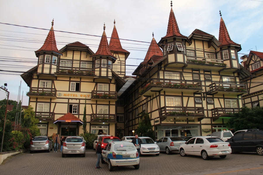 Hotel Sky em Gramado.