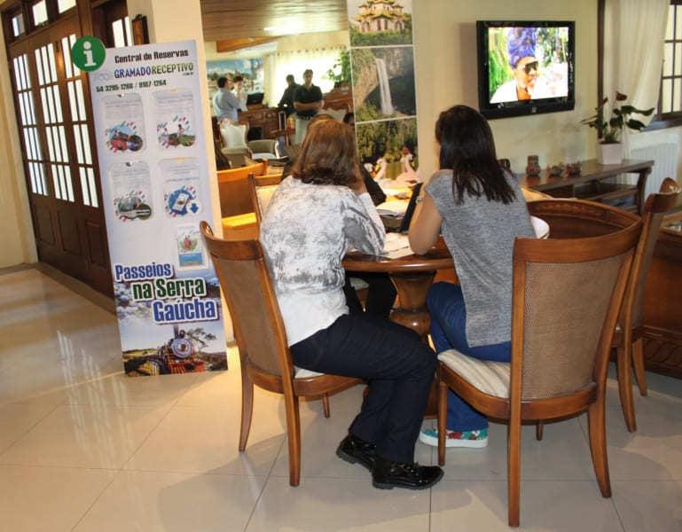 Receptivo turístico do Hotel Sky em Gramado