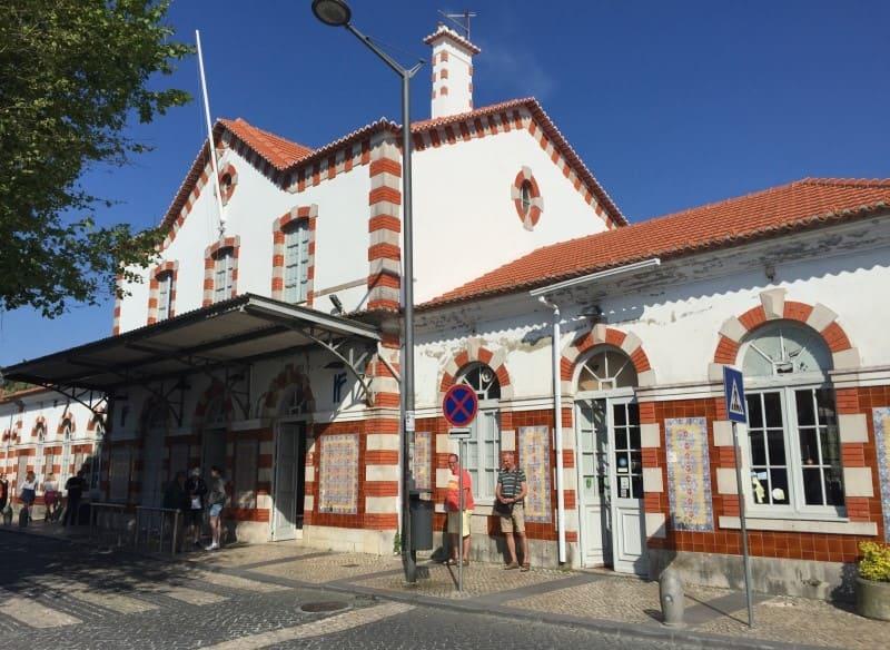 Estação ferroviária da cidade de Sintra.