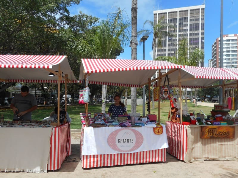 O Fuxico - evento na Praça Nossa Senhora da Paz em Ipanema.