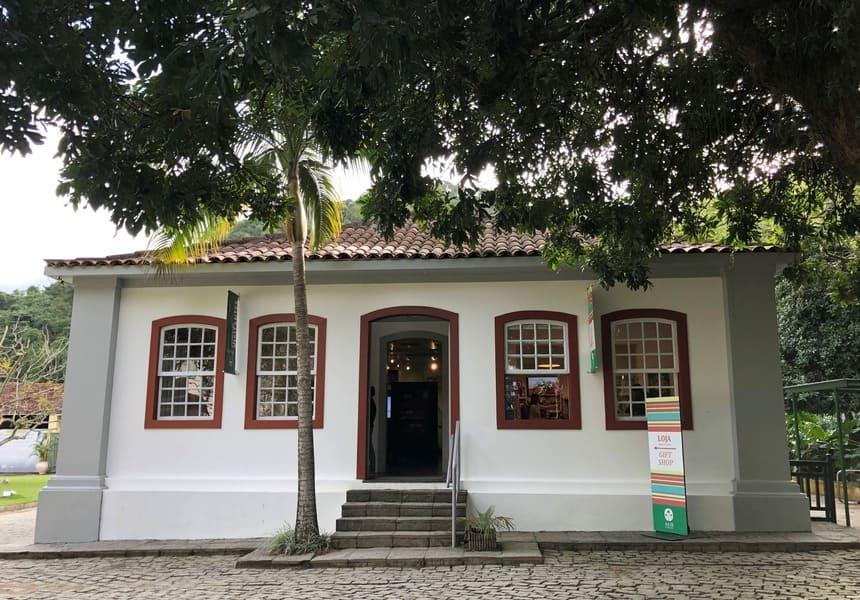 Loja de suvenires do Jardim Botânico do Rio de Janeiro.