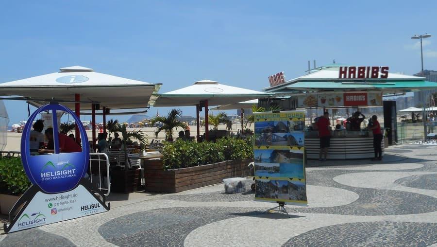 Quiosques da Praia de Copacabana.