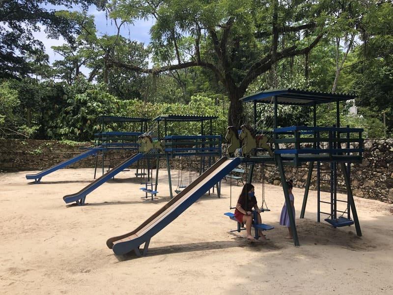 Playground of the Botanical Garden of Rio de Janeiro