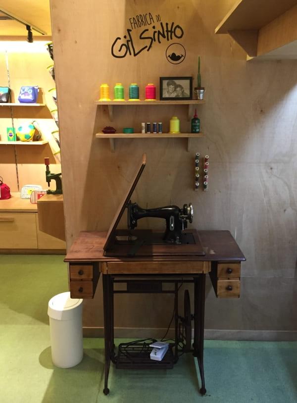 Instalações da Fábrica do Gilsinho na loja Gilson Martins de Ipanema