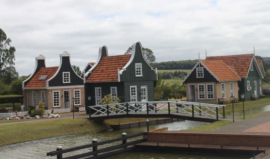 Construções típicas holandesas do Parque Histórico de Carambeí