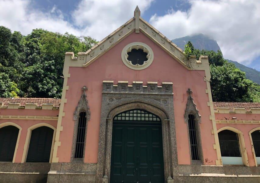 Cavalariça do Parque Lage no Rio de Janeiro