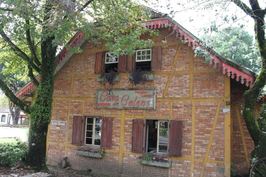 Casa do Colono no centro de Gramado