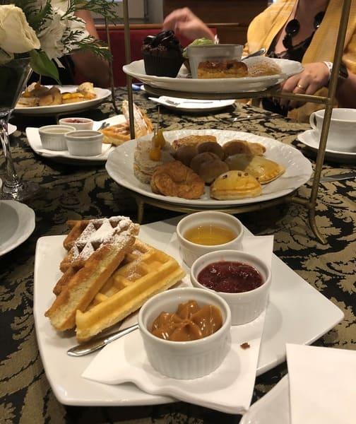Chá da Tarde do hotel Ritta Hoppner ótima opção para comer em Gramado