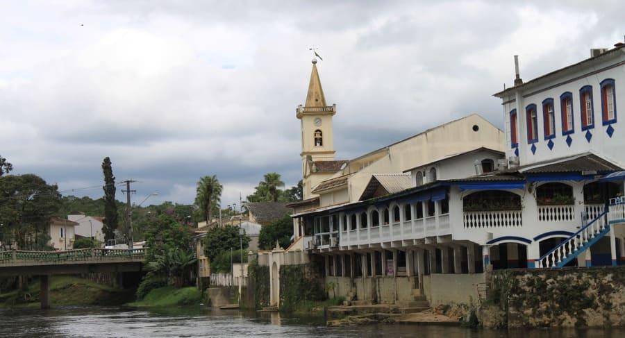 Centro histórico da cidade de Morretes no Paraná