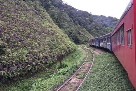 Passeio de trem Curitiba-Morretes