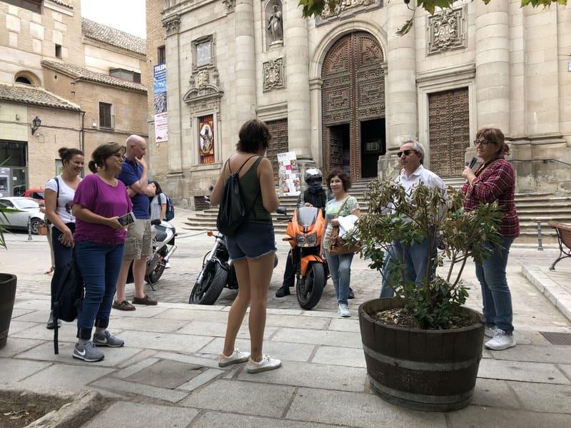 Free walking tour durante o do roteiro de 1 dia em Toledo na Espanha.
